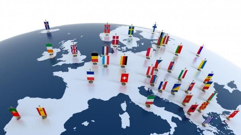 Kraje UE
